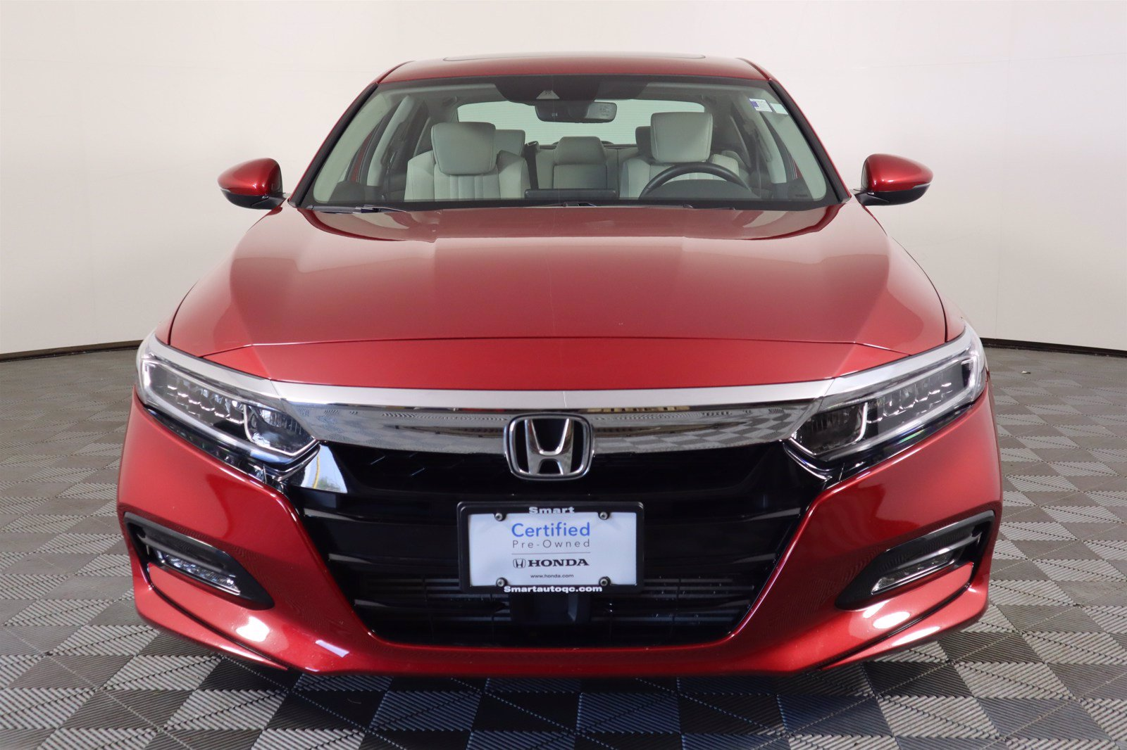 Certified Pre-Owned 2018 Honda Accord Sedan EX-L Navi 2.0T